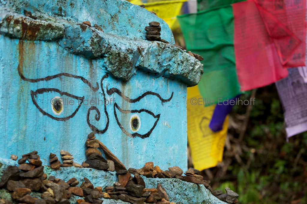 Buddha Eyes - Sikkim, India