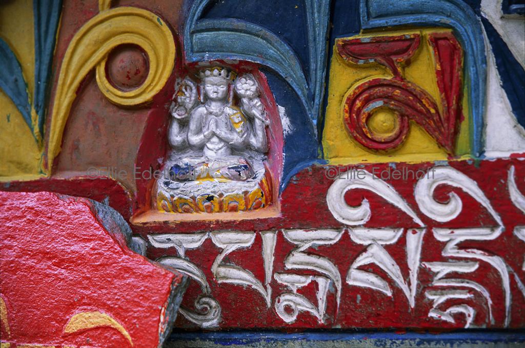 The Bodhisattva of Compassion - Sikkim, India