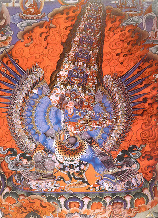 Tibetan Buddhist and Bon art