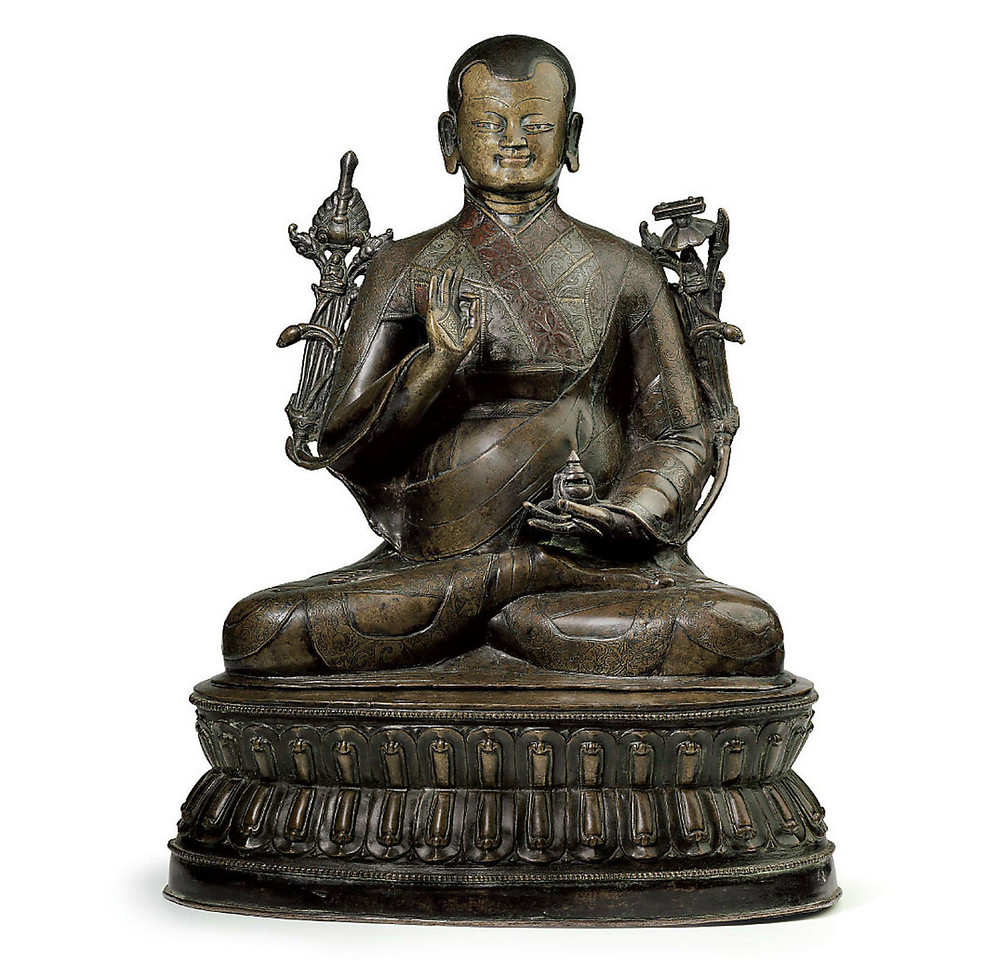 Lama,Tibet, 15th Century