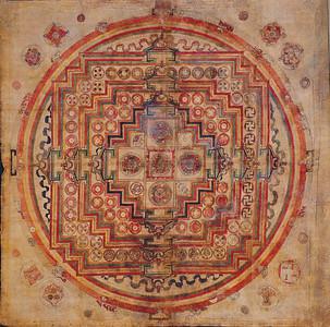 Bon Mandala Tibet, 18th century