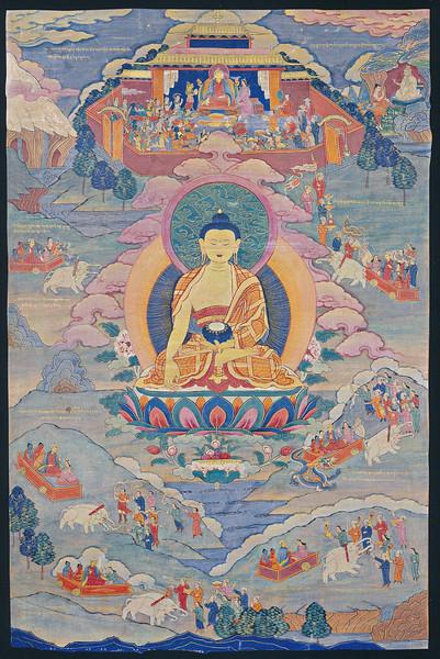 Tonpa Shenrab, Life Story, Tibet. 18-19th century