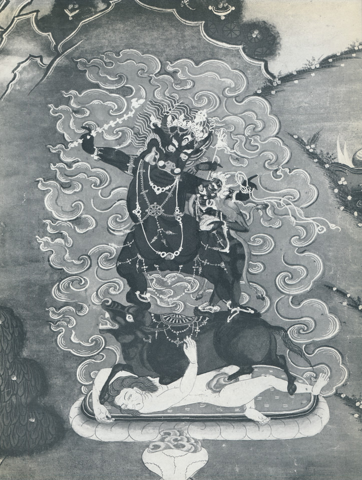 gSin-rje [Skt. Yama] and Tsamundi