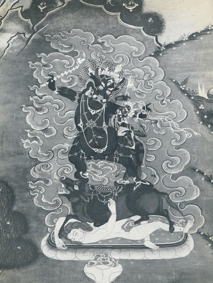gSin-rje [Skt. Yama] and Tsamundi