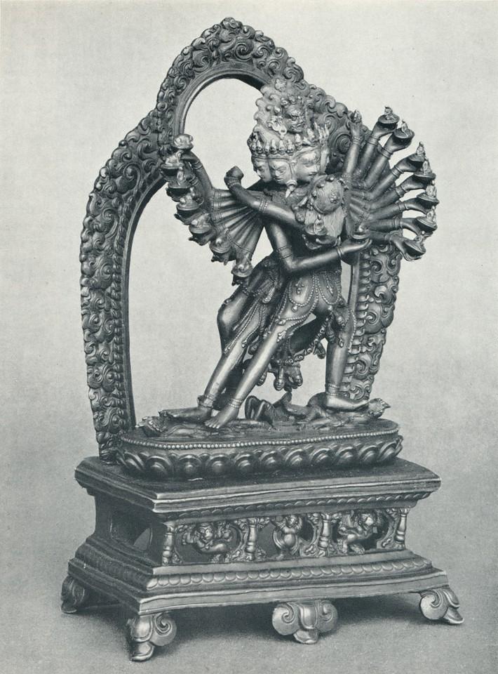 Kye-ba rdo-rje [Skt.Hevajra] yab-yum