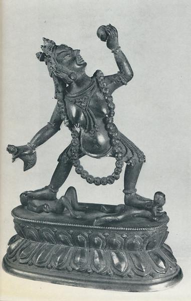 rDo-rje rnal-'byor-ma [Skt.Vajra-yogini or Sarvadbuddhadakini]