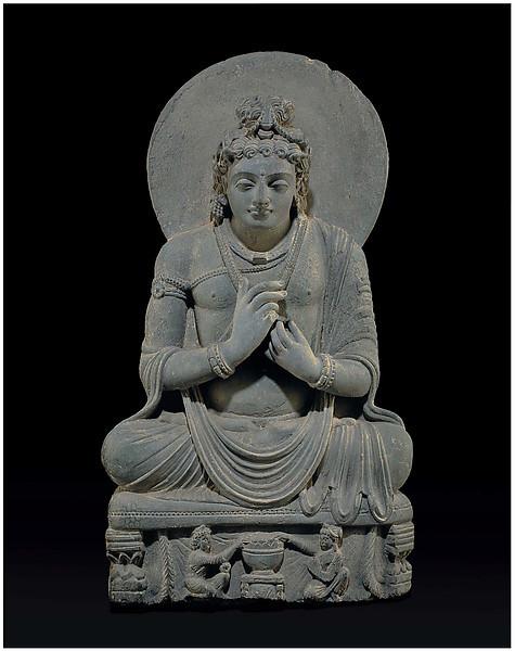 Maitreya, Gandhara, 2nd-3rd century