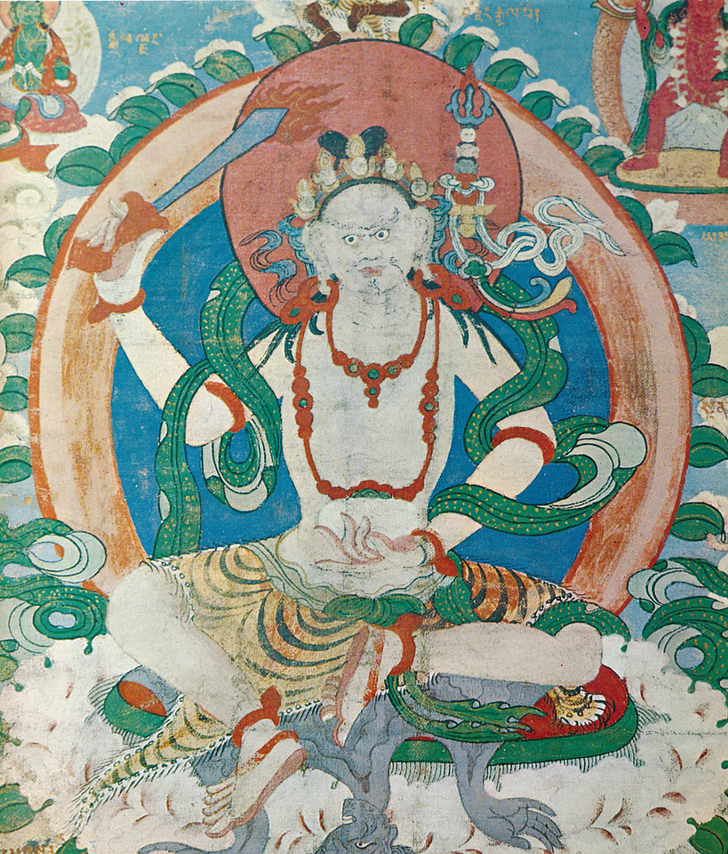 Padmasambhava_scroll painting