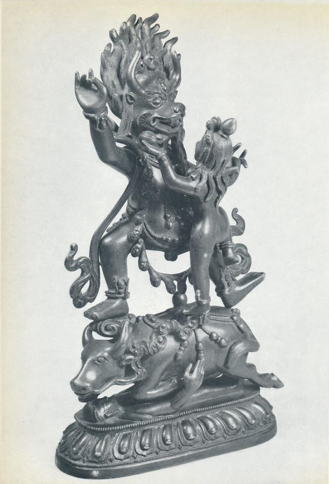 gSin-rje [Skt. Yama] and Tsamundi or Yami
