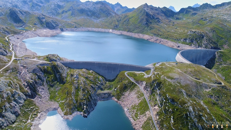 Aerial of Lake Naret and its dam. Source: continentando.com