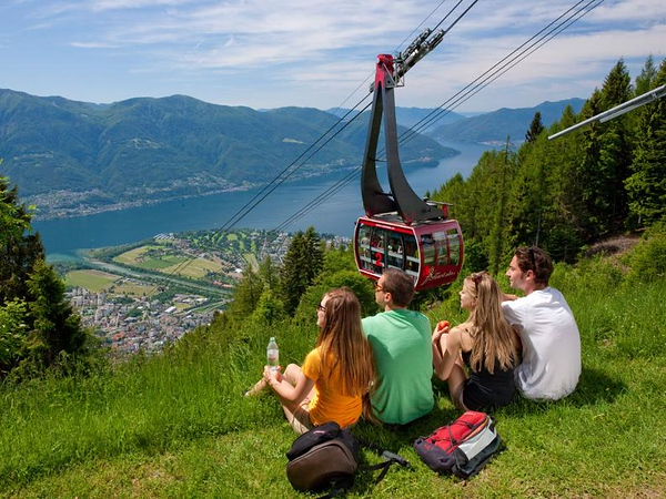 Orselina - Cardada - Cimetta funicular. Source: www.ascona-locarno.com