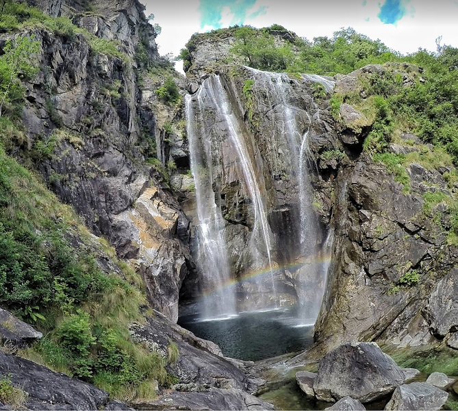 Cascata del Salto, Maggia. Source: Google Maps