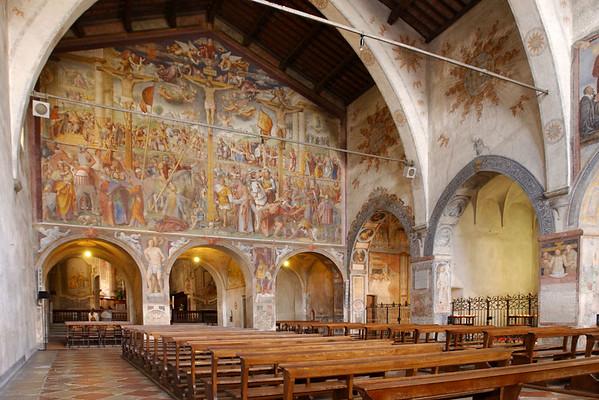 Chiesa Santa Maria degli Angioli, Lugano. Source: https://www.luganoregion.com/en
