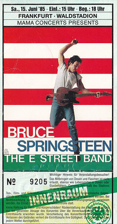1985-06-15 - Bruce Springsteen