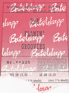 1987-09-22 - The Flamin' Groovies