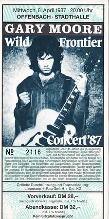1987-04-08 - Gary Moore