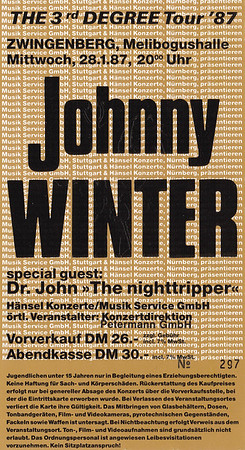 1987-01-28 - Johnny Winter