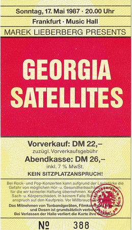 1987-05-17 - Georgia Satellites