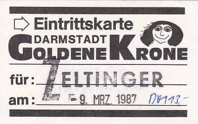 1987-03-09 - Zeltinger