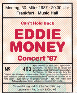 1987-03-30 - Eddie Money
