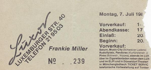 1986-07-07 - Frankie Miller
