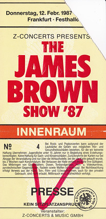1987-02-12 - James Brown