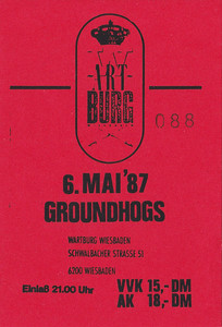 1987-05-06 - Groundhogs