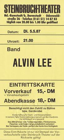 1987-05-05 - Alvin Lee