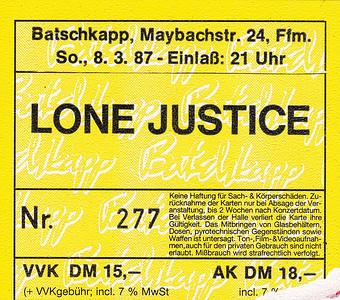 1987-03-08 - Lone Justice