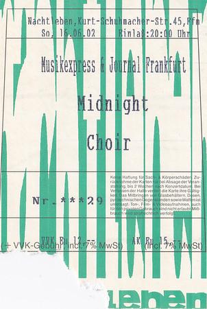 2002-06-16 - Midnight Choir