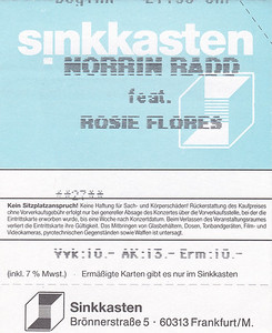 2002-11-19 - Norrin Radd + Rosie Flores