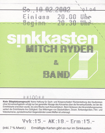 2002-02-10 - Mitch Ryder