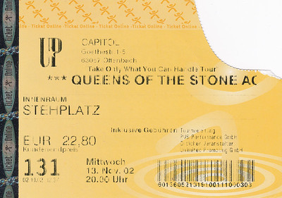 2002-11-13 - Queens Of The Stone Age