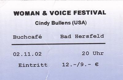 2002-11-02 - Cindy Bullens