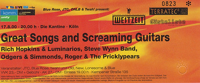 2000-08-17 - Rich Hopkins + Steve Wynn