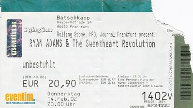 2002-02-14 - Ryan Adams
