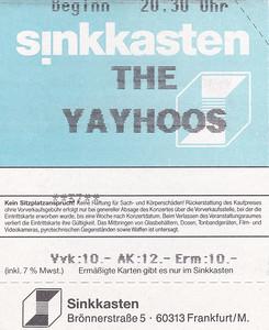 2002-05-06 - The Yayhoos