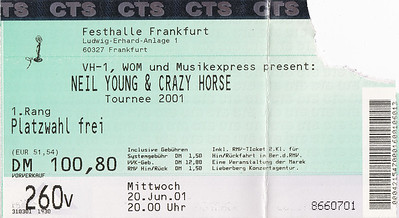 2001-06-20 - Neil Young & Crazy Horse