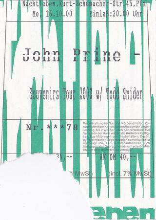 2000-10-16 - John Prine + Todd Snider