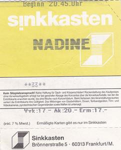 2000-11-19 - Nadine