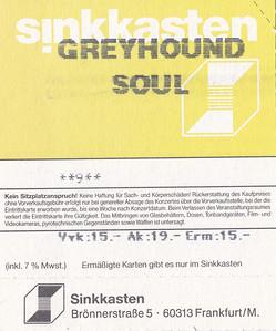 2001-05-14 - Greyhound Soul