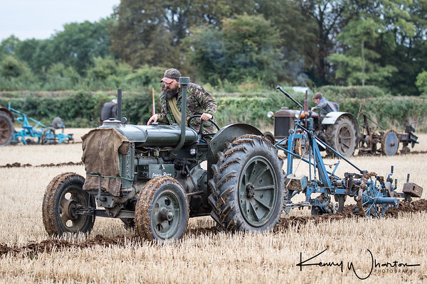 Fordson N match ploughing
