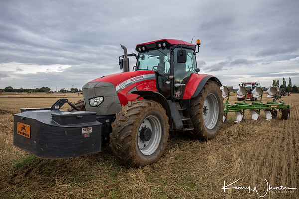 EU09 PVY McCormick TTX 210 with Amazone plough