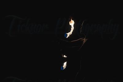 Fire Spinning artist - Flow Wand