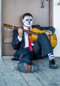 Dia de los Muertos Guitar