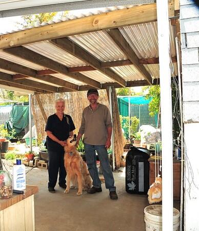 Grandma Lucille, Tienshi and Michael 2009
