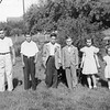 Eddy, Ron, Wendell, Shirley Janice... Fred/s Farm... unknow 2nd from left... perhaps Bobby Monte