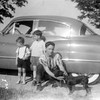 Gene, Bob, Ron & Duke,... abt 1953