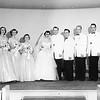 Shirley & Jim's Wedding.. Shirle Schreiber, Lois, Janice, Shirley, Jim, Ronald, Harvey