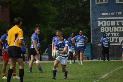 Tiger Rugby Scrimmage Blue & Gray 08-27-2016